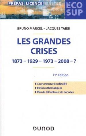Les grandes crises - Dunod - 9782100788866 -