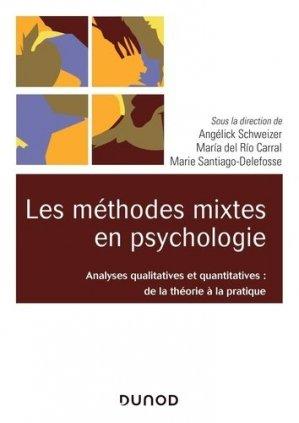Les méthodes mixtes en psychologie - dunod - 9782100793020 -