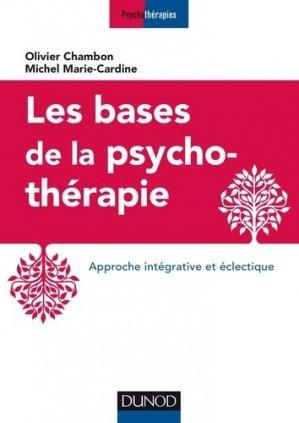 Les bases de la psychothérapie - dunod - 9782100793501 -