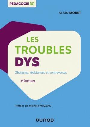 Les troubles dys - dunod - 9782100793587