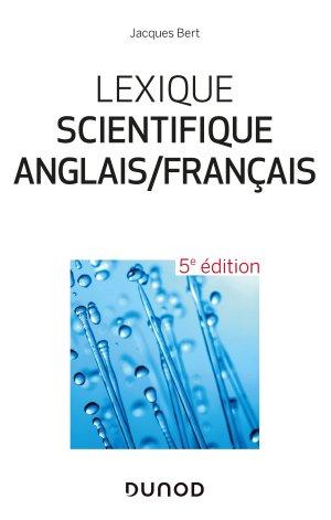 Lexique scientifique anglais/français - dunod - 9782100793600 -