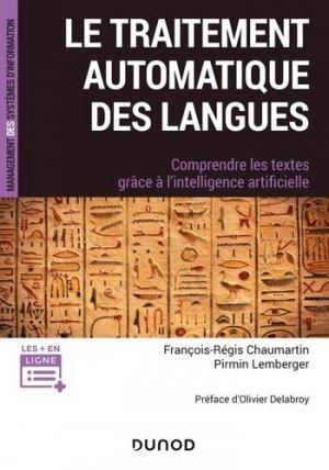 Le traitement automatique des langues - dunod - 9782100801886 -