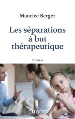 Les séparations à but thérapeutique - Dunod - 9782100802456 -