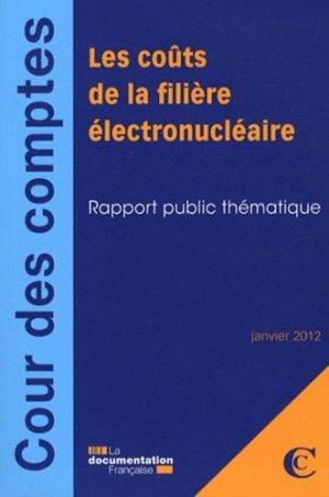 Les coûts de la filière électronucléaire - la documentation francaise - 9782110089571 -
