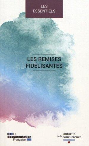 Les remises fidélisantes. Edition bilingue français-anglais - La Documentation Française - 9782111456747 -