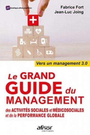Le grand guide du management des activités sociales et médicosociales et de la performance globale - afnor - 9782124657698 -