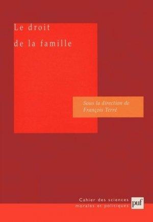 Le droit de la famille - puf - presses universitaires de france - 9782130528074 -