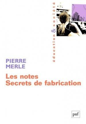 Les notes - puf - presses universitaires de france - 9782130561668 -