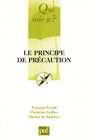 Le principe de précaution - puf - presses universitaires de france - 9782130566298 -