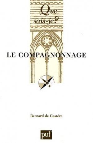Le compagnonnage - puf - presses universitaires de france - 9782130568131 -