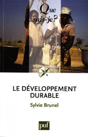 Le développement durable - puf - presses universitaires de france - 9782130574576 -