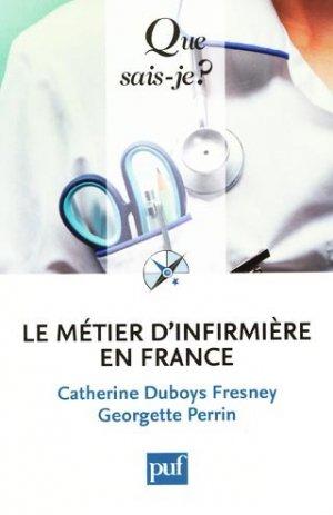 Le métier d'infirmière en France - puf - 9782130578857 -