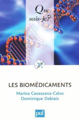 Les biomédicaments - puf - 9782130588221 -