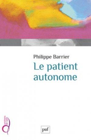 Le patient autonome - puf - presses universitaires de france - 9782130621423 -
