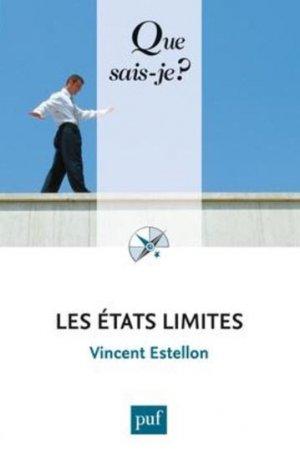 Les états limites - puf - presses universitaires de france - 9782130630494 -