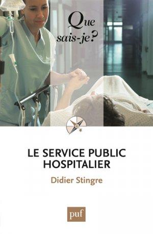 Le service public hospitalier - puf - 9782130652984 -