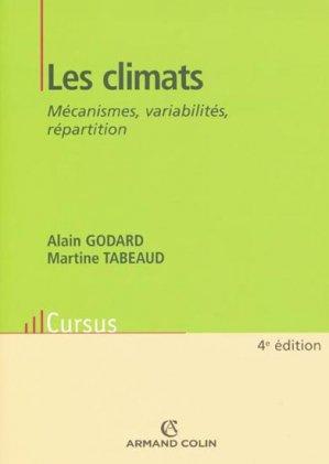 Les climats - armand colin - 9782200244514