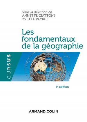 Les fondamentaux de la géographie - armand colin - 9782200602123