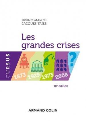 Les grandes crises - Armand Colin - 9782200613488 -