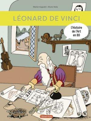 Léonard de Vinci - casterman - 9782203180819 -