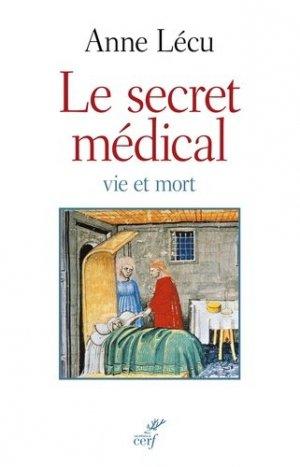 Le secret médical - cerf - 9782204114929 -
