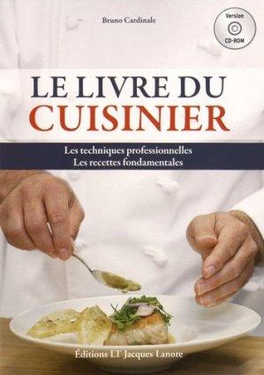 Le livre du cuisinier - CD-ROM - éditions lt jacques lanore - 9782206302256 -