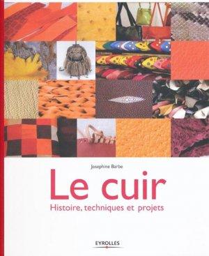 Le Cuir - eyrolles - 9782212125009 -