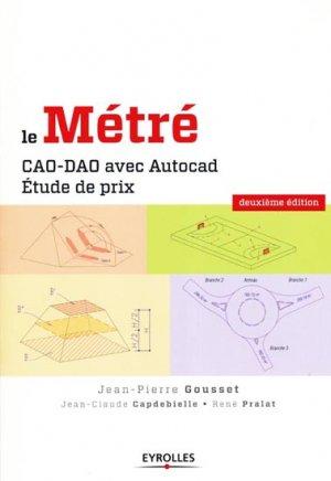 Le Métré - eyrolles - 9782212126563 -