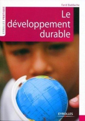 Le développement durable - Eyrolles - 9782212546835 -
