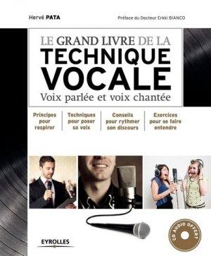 Le grand livre de la technique vocale - Eyrolles - 9782212559521 -