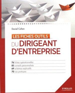 Les fiches outils du dirigeant d'entreprise - Eyrolles - 9782212567502 -