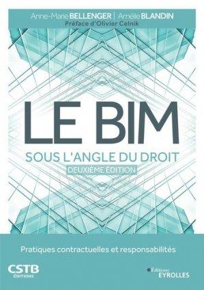 Le BIM sous l'angle du droit - eyrolles - 9782212674248 -
