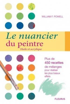Le nuancier du peintre - fleurus - 9782215148937 -