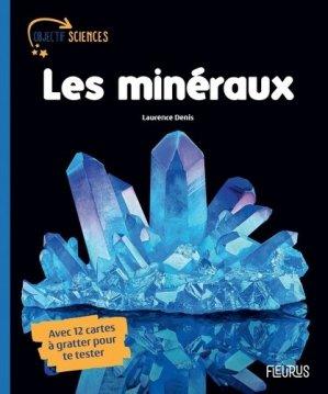 Les minéraux - fleurus - 9782215168911 -