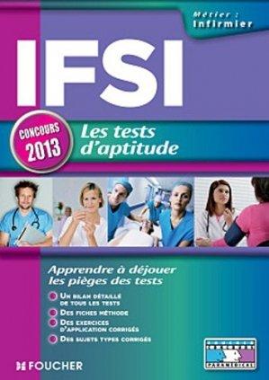 Les tests d'aptitude IFSI - foucher - 9782216120406 -