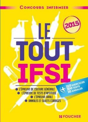 Le Tout IFSI - 2015 - foucher - 9782216128167 -