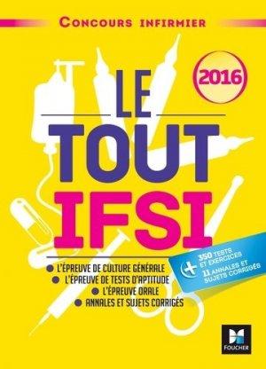 Le Tout IFSI - 2016 - foucher - 9782216133079 -