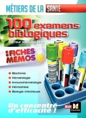 Les 100 examens de biologie ESI-IDE-foucher-9782216135523