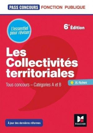 Les collectivités territoriales. 6e édition - Foucher - 9782216149261 -