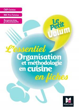 Le Petit Volum' - Organisation et méthodologie en cuisine - Révision et entrainement - foucher - 9782216149568 -