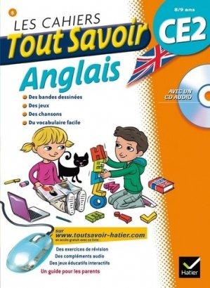Les cahiers Tout Savoir Anglais CE2 - Hatier - 9782218964657 -