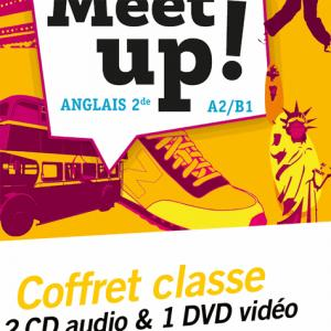 Let's Meet up ! - Anglais 2de Éd. 2018 - Coffret CD/DVD - hatier - 9782218999895 -