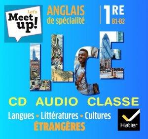 Let's Meet up ! - Anglais 2019 - Coffret CD Classe LLCE - hatier - 9782218999956