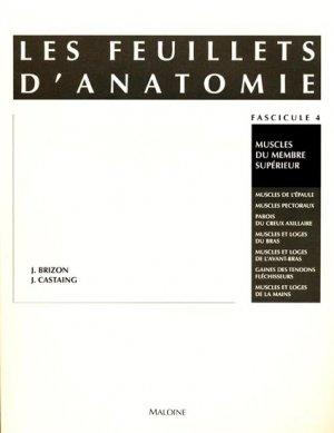Les feuillets d'anatomie Fascicule 04 - maloine - 9782224000844