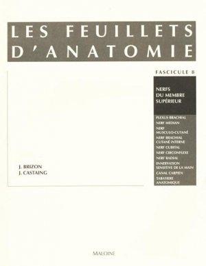 Les feuillets d'anatomie Fascicule 08 - maloine - 9782224001636