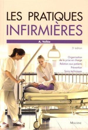 Les pratiques infirmières - maloine - 9782224034450 -