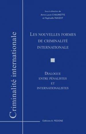 Les nouvelles formes de criminalité internationale - pedone - 9782233009746 -