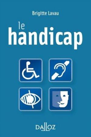 Le handicap - dalloz - 9782247119943 -