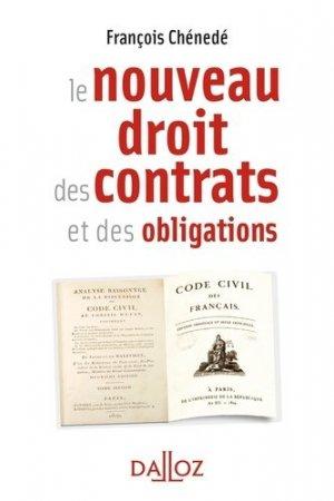 Le nouveau droit des contrats et des obligations - dalloz - 9782247161461 -