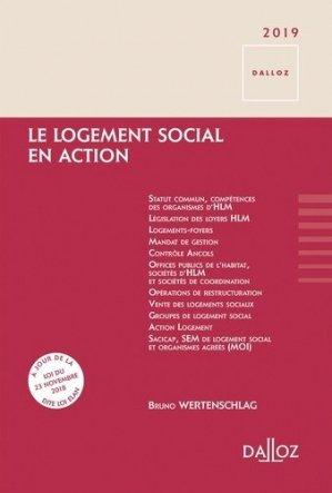 Le logement social en action - dalloz - 9782247180882 -